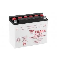 Akumulator Yuasa 12N18-3