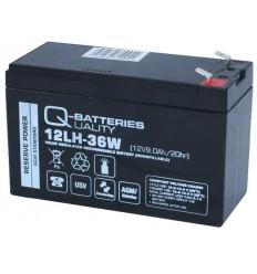 Q-Batteries 12LH-36W