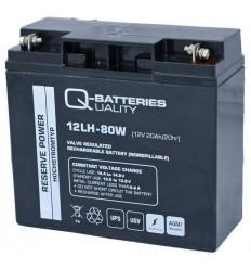 Q-Batteries 12LH-80W